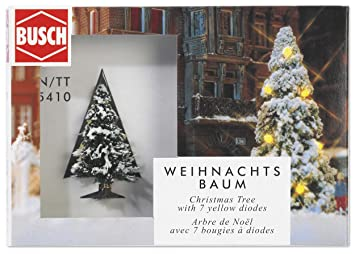 Busch 5410 Christmas Tree Light Up N TT Gauge