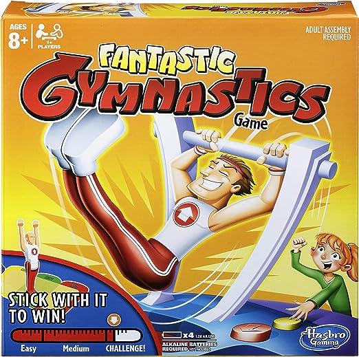 Hasbro Juego de Mesa Fantastic Gymnastics C0376: Amazon.es: Juguetes y juegos