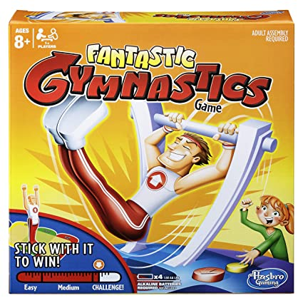 ca2dbbceafe Amazon.com  Hasbro Gaming Fantastic Gymnastics Game  Toys   Games