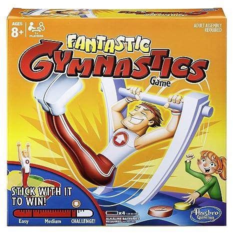Hasbro Juego De Mesa Fantastic Gymnastics C0376 Amazon Es Juguetes