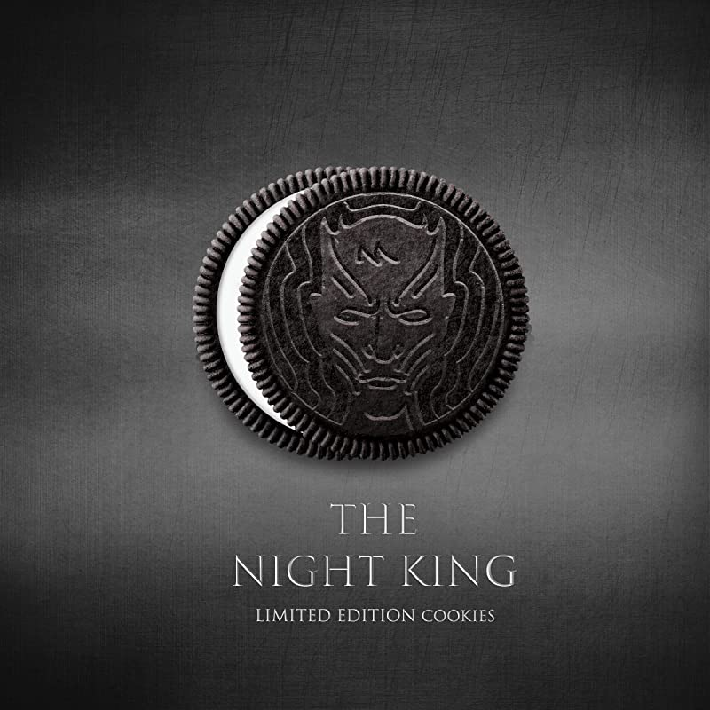 OREO Limited Edition Game of Thrones Themed Classic Chocolate Sandwich Cookies