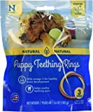 NATURAL POLYMER N-Bone Puppy Teething Ring Chicken Flavor (3-Pack)