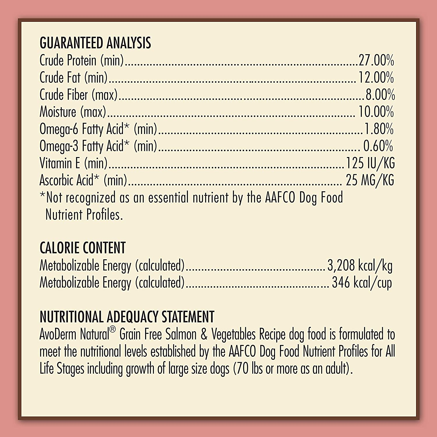 AvoDerm Natural All Life Stages Dry Wet Dog Food, Grain Free, Salmon Vegetables Recipe
