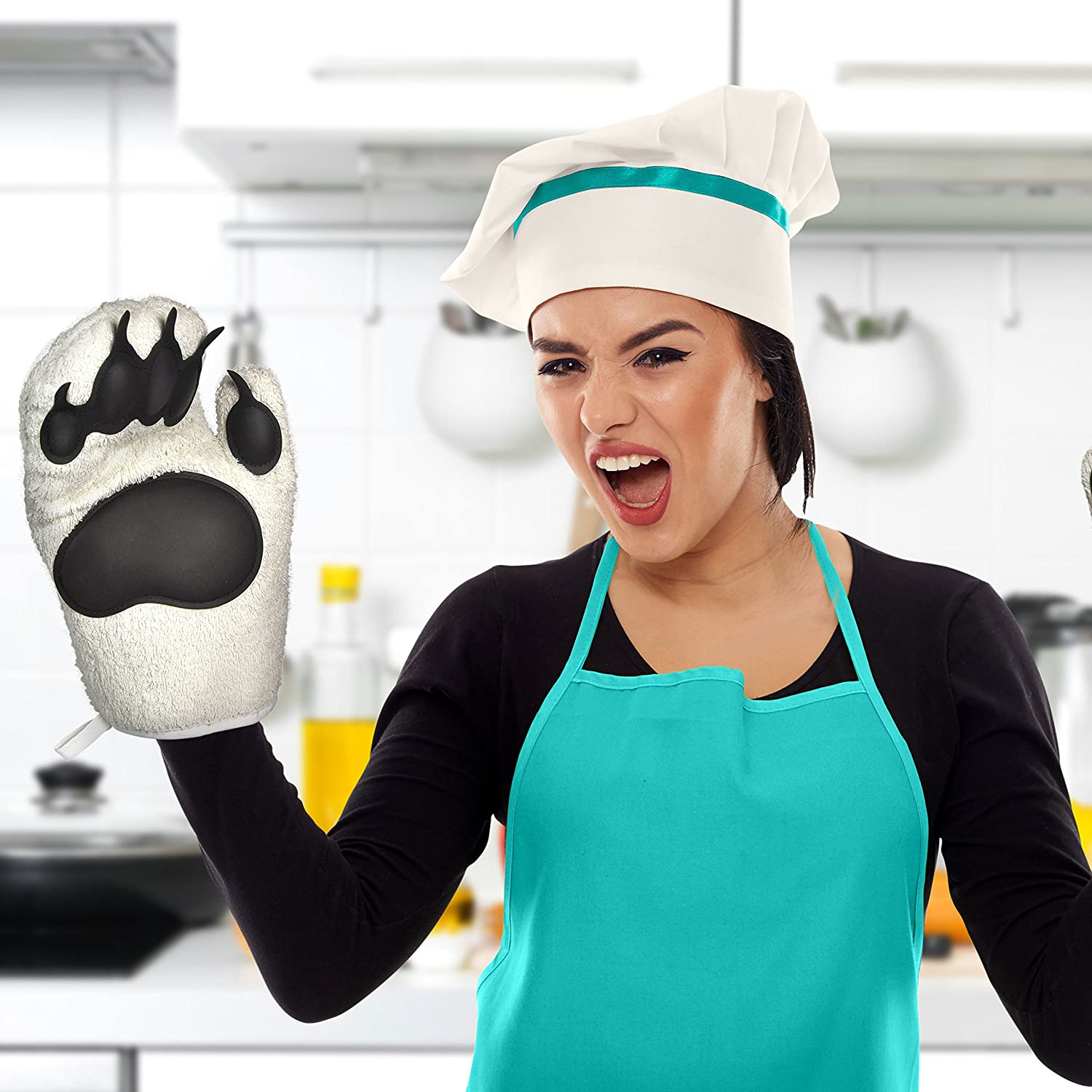 Fred BEAR HANDS Oven Mitts Set of 2 5130360