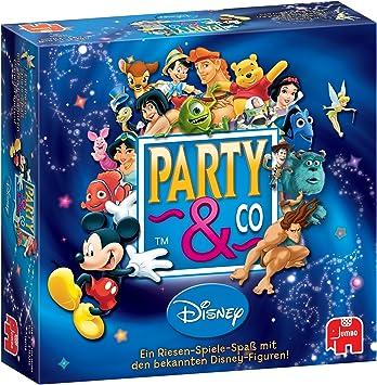 Jumbo 03966 Party & Co. Disney - Juego de Mesa Party (en alemán): Amazon.es: Juguetes y juegos