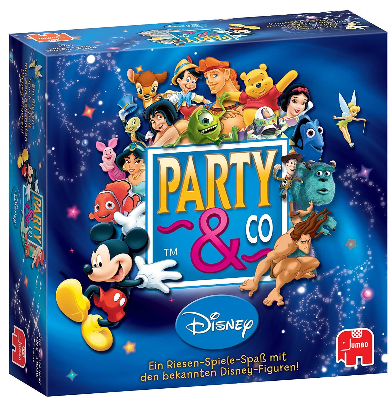 Jumbo 03966 Party & Co. Disney - Juego de Mesa Party (en alemán ...