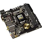 ASUS  H170I-PRO LGA1151  - Placa base (zócalo,  2x DDR4 max 32GB, 10 x puertos SATA 6Gb/s, Bluetooth 4.0, USB 3.1, PCIe 3.0)