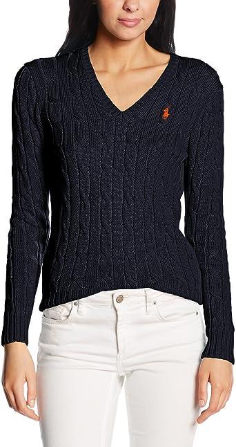 Polo Ralph Lauren Kimberly PP Ls SWT Sweater Femme: Amazon.fr