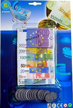 Spielgeld Set Euro Scheine Und Münzen Amazonde Spielzeug