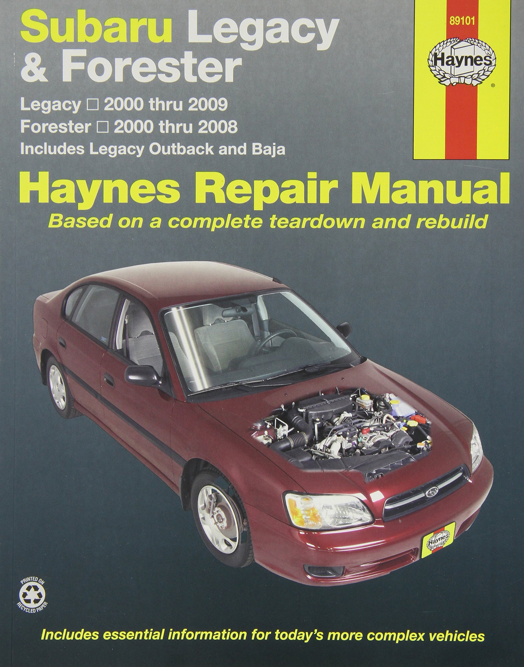 Amazon.com: Haynes Publications, Inc. 89101 Repair Manual (0038345891014):  Books