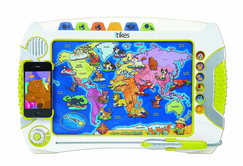 amazon com itikes map toys u0026 games