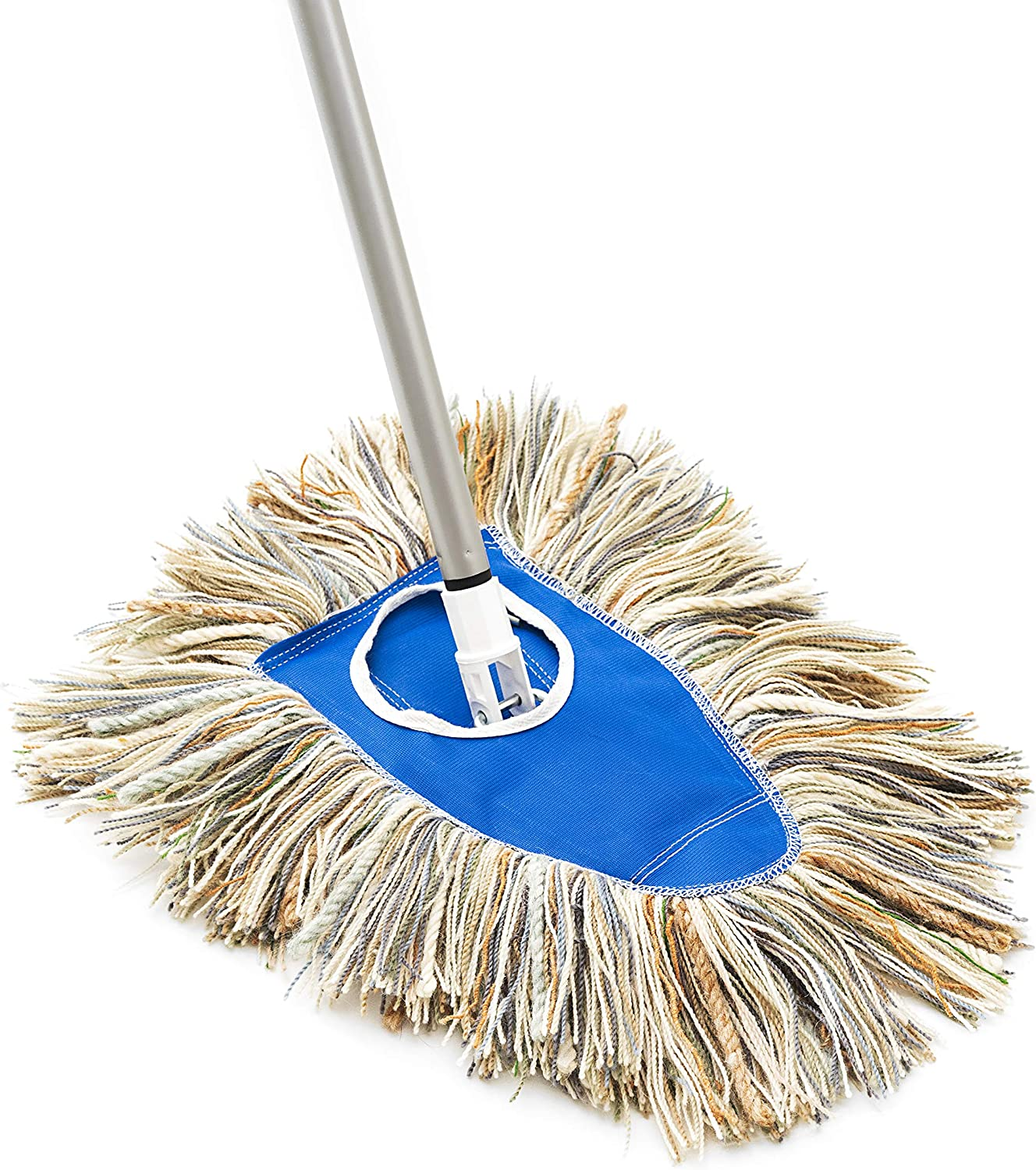 Dry Mop Complete Fuller Brush Dry Mop Head With Frame /& Adjustable Telescopic Handle