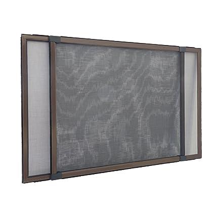 Jarolift Moustiquaire Avec Cadre Pour Fenêtre Réglable Easy Slide