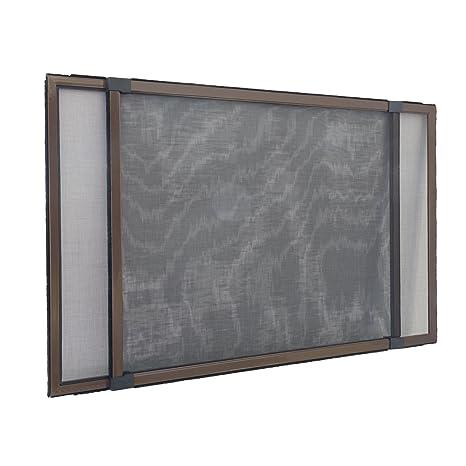 JAROLIFT Mosquitera extensible/Easy Slide para ventanas y puertas con railes de persiana enrollable