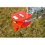 Equipment Lock BRHL - Steel Ball and Ring Hitch Lock - Durable, Secure Trailer Hitch Lock - Trailer Accessories - Electro-Pla