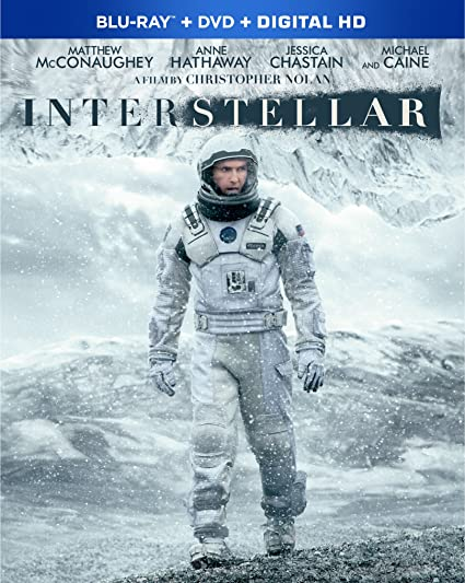 Interstellar Blu Ray DVD Combo Pack Ellen