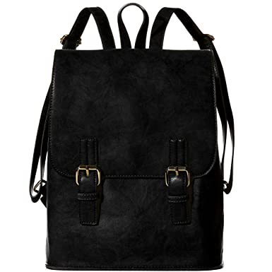 Amazon.com | Handbag Republic Cute Korean Faux Leather School ...