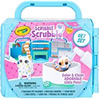 Crayola Scribble Scrubbie Pets Vet Animal Toy Set, Gift Age 3+