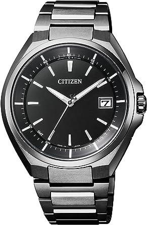 メンズ シチズン アテッサ AT6050-54E 国内専用 スーパーチタニウム 電波時計 腕時計 ATTESA CITIZEN