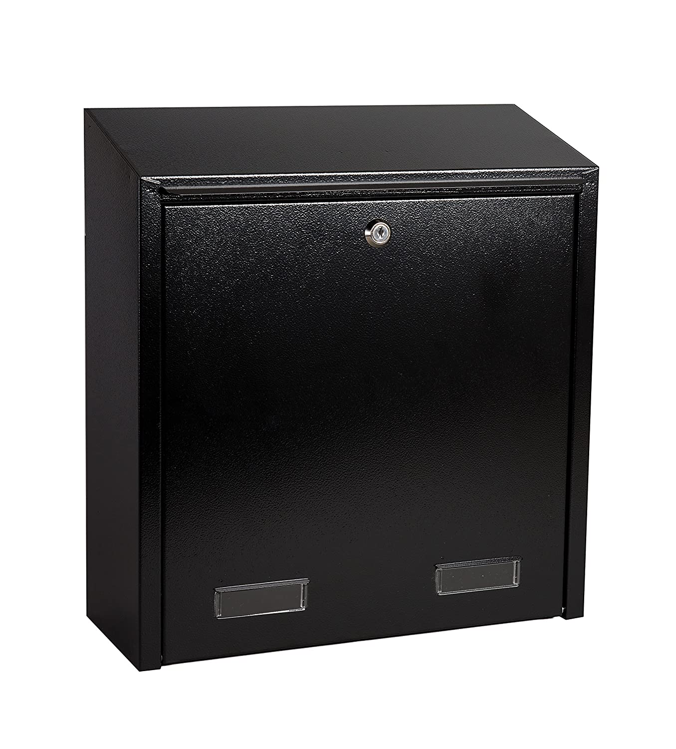 Rear Access Letter Box.Letterbox4you W3 Range W3 6 Rear Access Collection Box Black