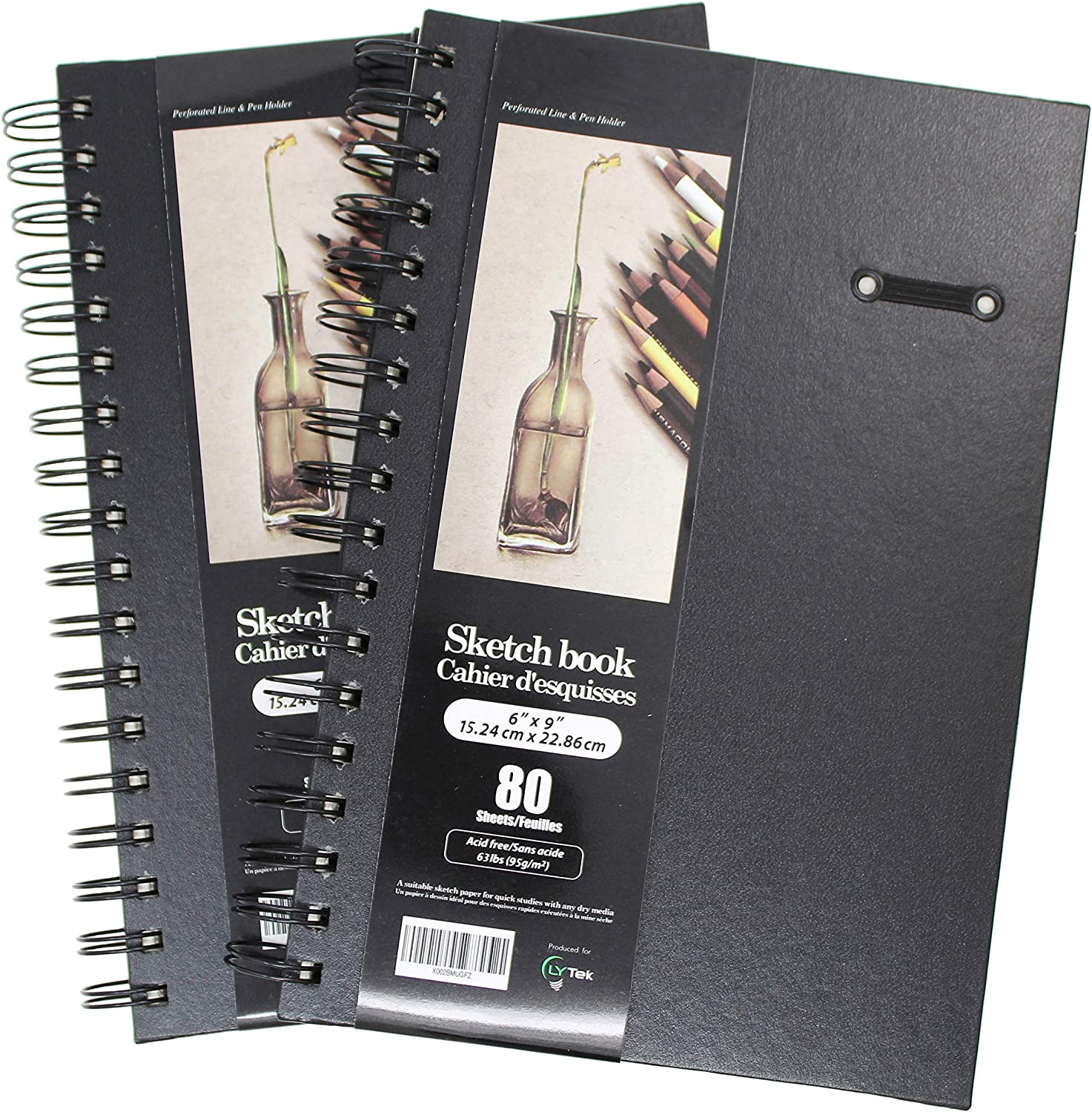 Lytek Hardcover Sketch Book,2 Pack 6