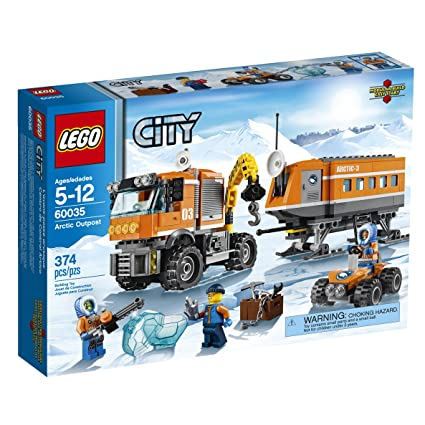 Amazon Com Lego City Arctic Outpost 60035 Building Toy