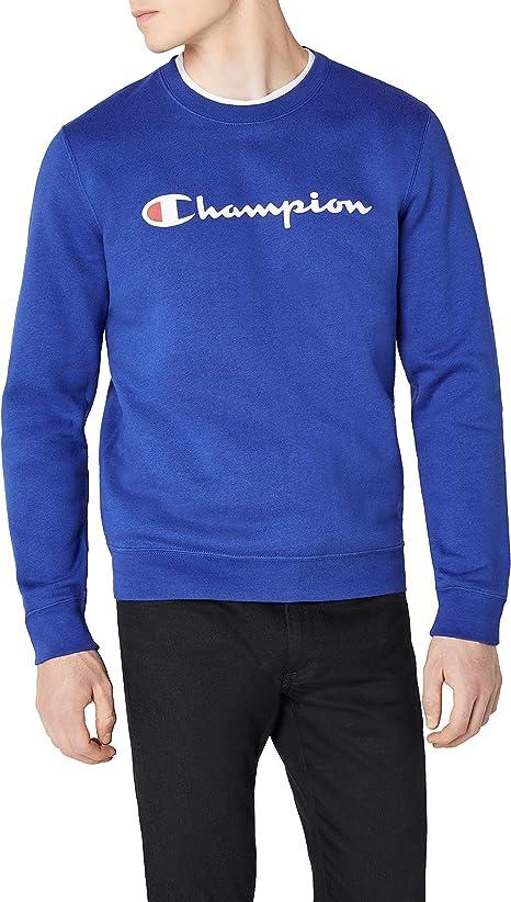 Champion Crewneck Sweatshirt-Institutionals Sudadera para Hombre ...