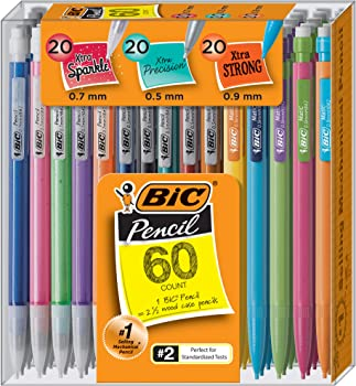 60-Count BIC Mechanical Pencil Variety Pack
