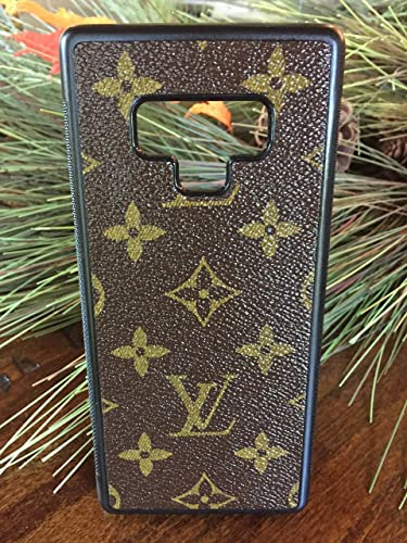 76ff26f4dc09 Amazon.com  Handmade Samsung Galaxy Note 9 case covered with repurposed Louis  Vuitton canvas  Handmade