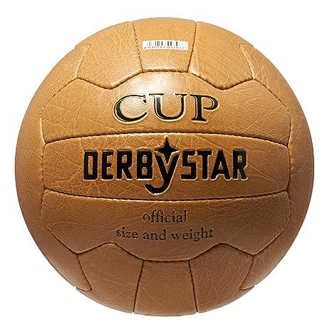 Derbystar Nostalgieball Cup - Balón de fútbol (Talla 5), Color ...