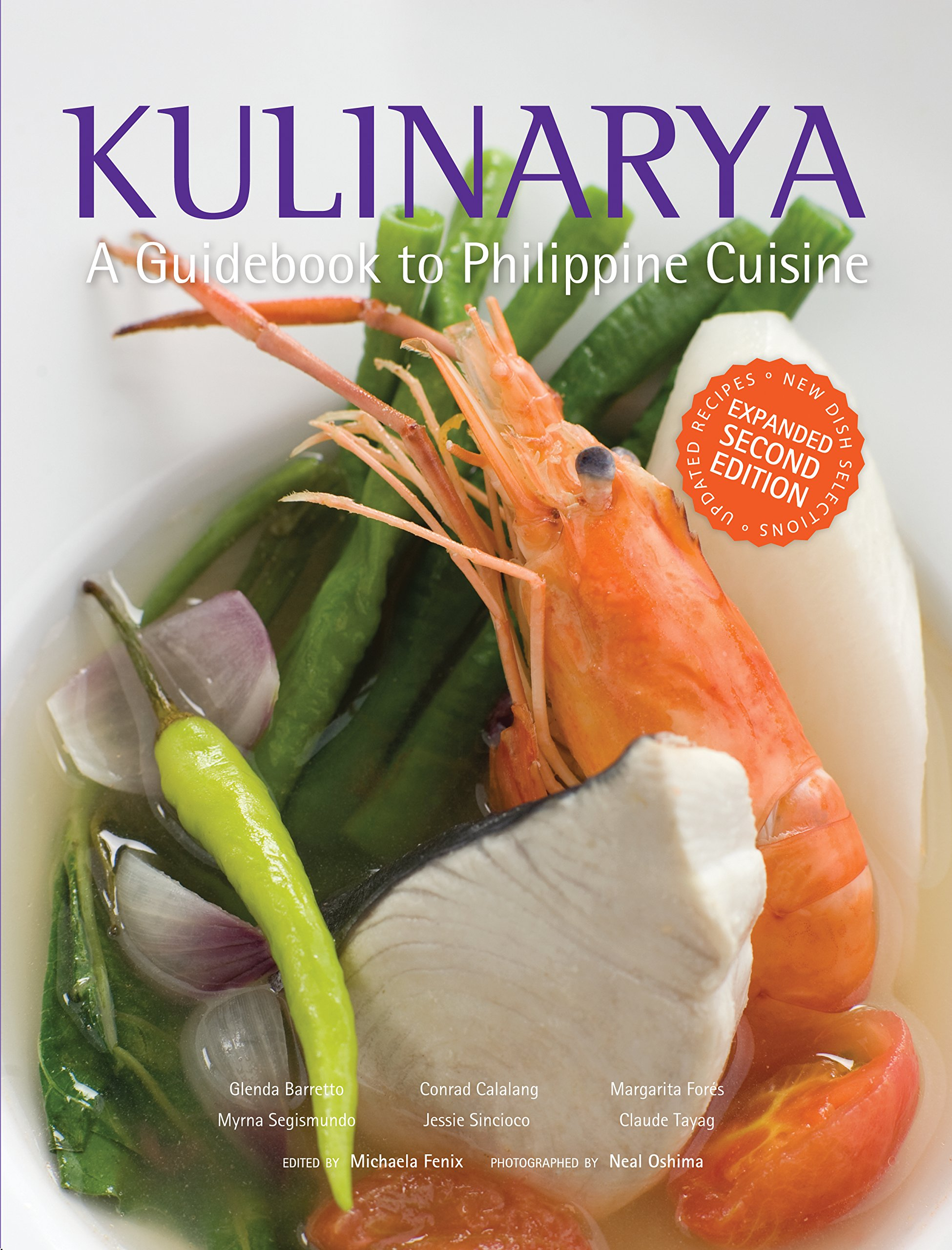 Kulinarya a guidebook to philippine cuisine glenda r barretto et kulinarya a guidebook to philippine cuisine glenda r barretto et al neal oshima 9789712728723 amazon books forumfinder Choice Image