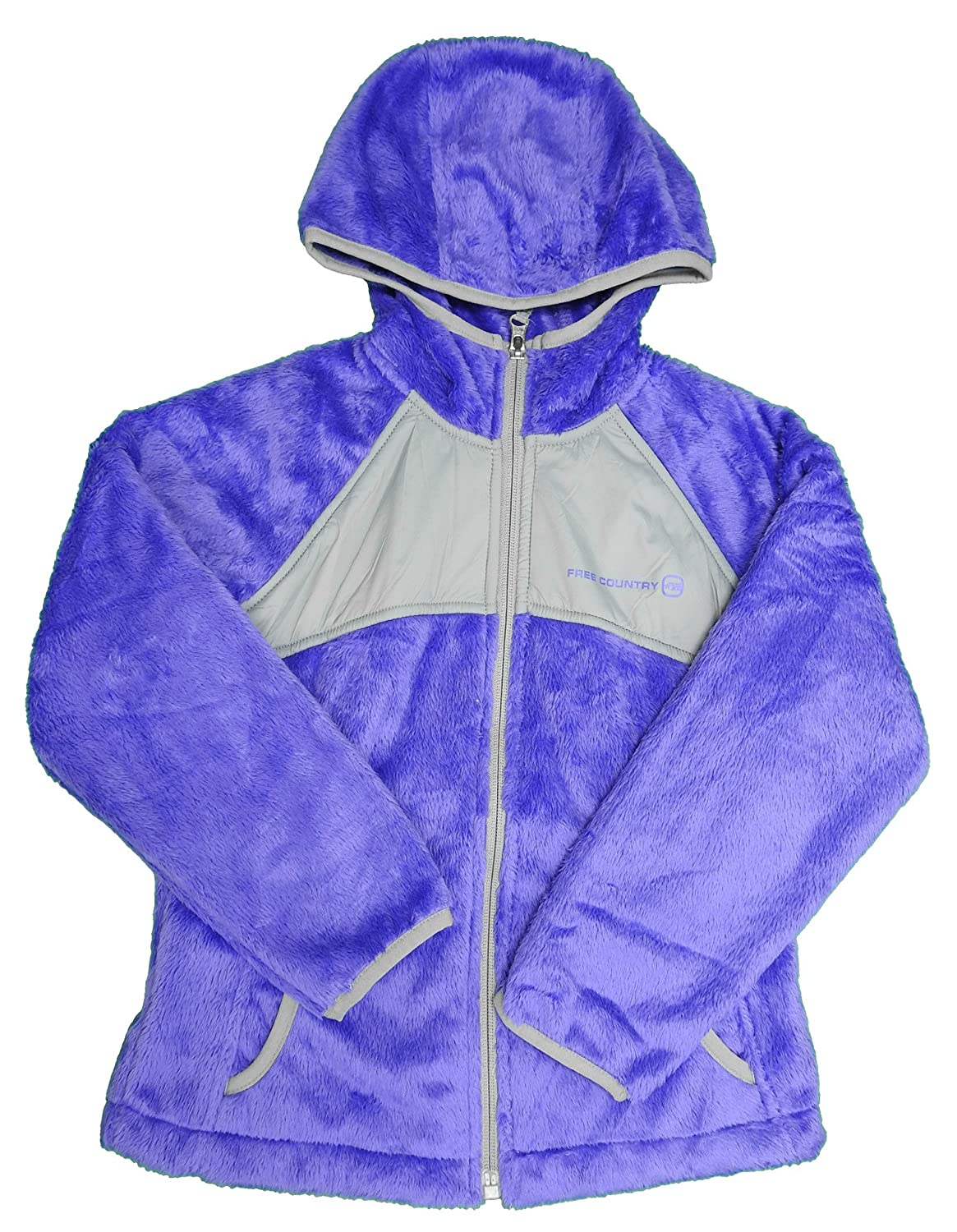 Free Country Girls Butter Pile Soft Shell Jacket Ultra Violet