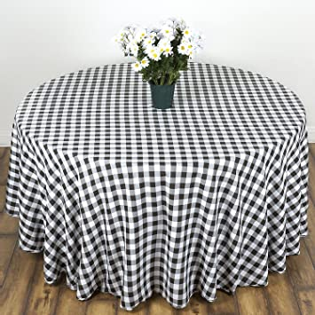 Amazoncom LinenTablecloth 90Inch Round Polyester Tablecloth