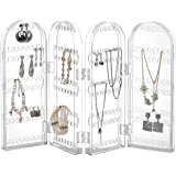 Beautify Foldable Earring Holder Stand Jewellery Display Organiser