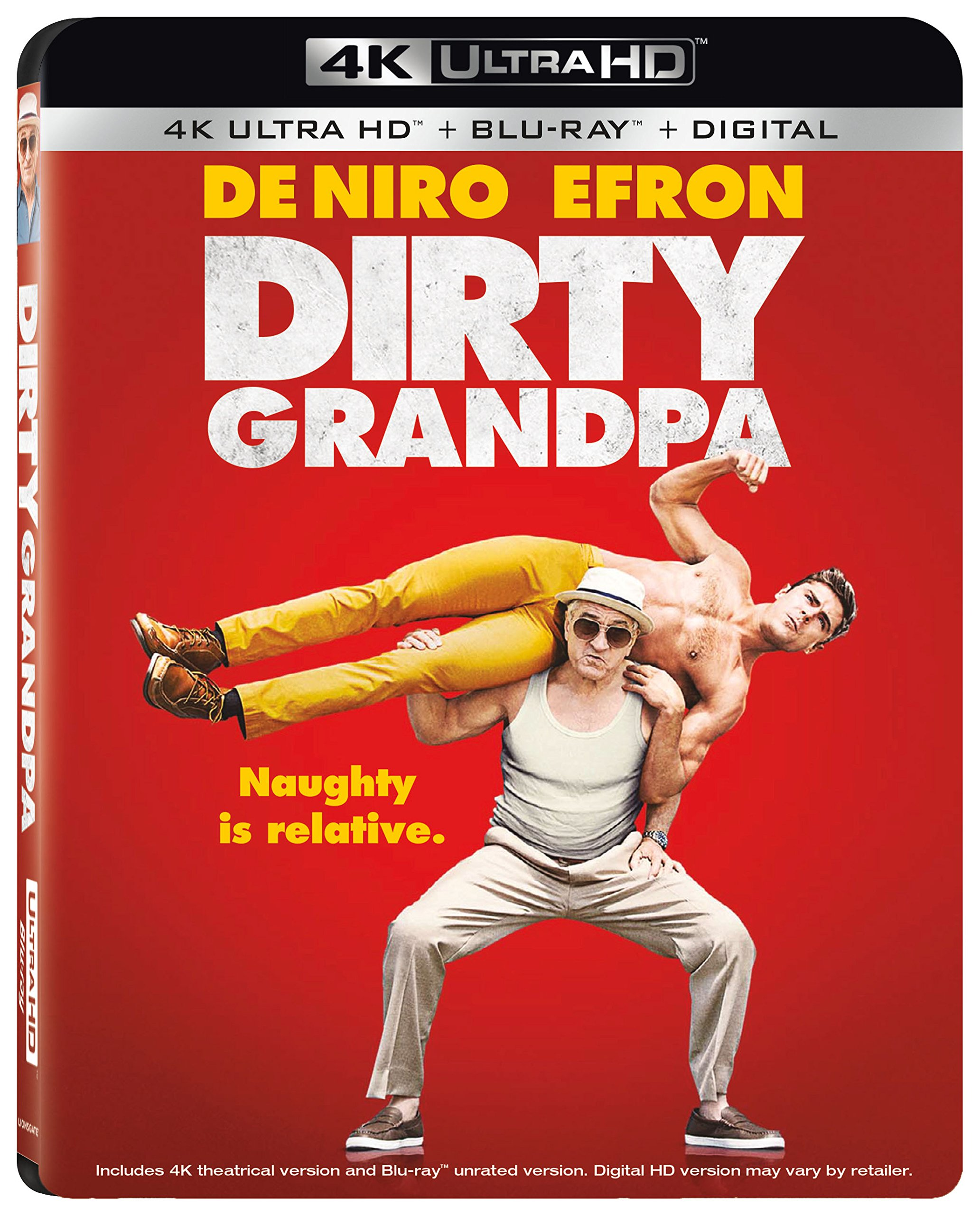 4K Blu-ray : Dirty Grandpa (With Blu-Ray, 4K Mastering, Widescreen, Dolby, AC-3)