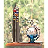 AcuRite 00795A2 Galileo Thermometer with Glass