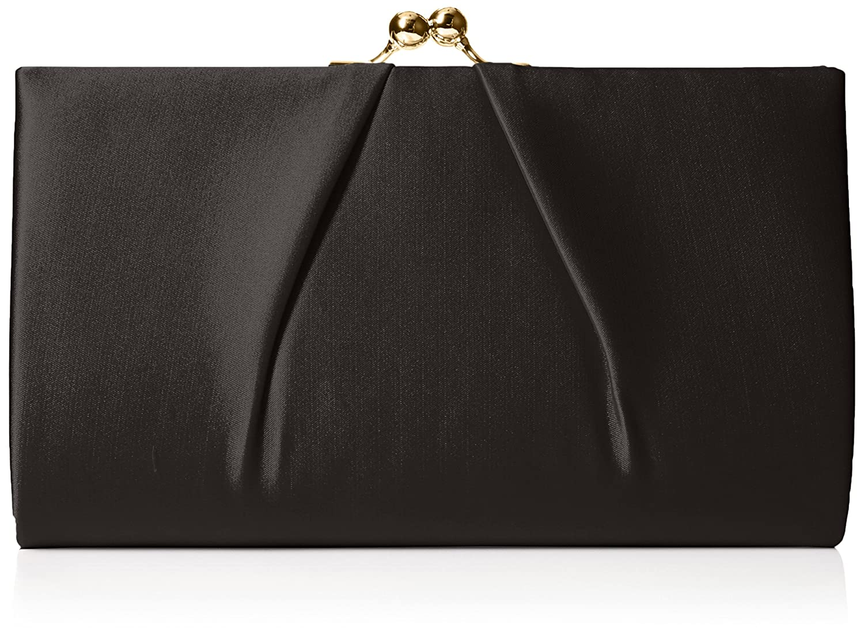 SwankySwans Women's Mira Satin Classic Frame Bag Clutch