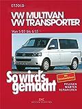 So wird's gemacht.VW Multivan- VW Transporter ab 5/03: Benziner 2,0 l/62 kW (84 PS) 9/90-1/03 bis 2,8 l/150 kW (204 PS) 5/00-1/03. Diesel 1,9 l/45 kW ... 9/90-7/96 bis 2,5 l/111 kW (150 PS) 4/98-1/03