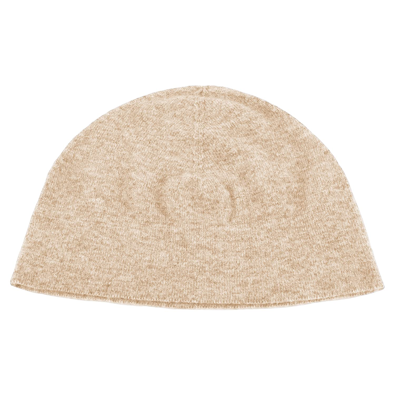 24eb0d2a64662 Love Cashmere Mens 100% Cashmere Watch Cap Beanie Hat - Light Natural - Made  in Scotland RRP  130 at Amazon Men s Clothing store