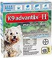 Bayer K9 Advantix II, Flea And Tick Control Treatment for Dogs
