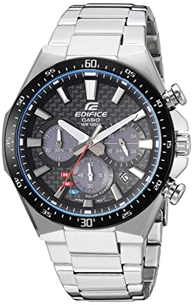 c9766c9a5d76 Image Unavailable. Image not available for. Color  Casio Men s Edifice  Quartz Watch with Stainless-Steel ...