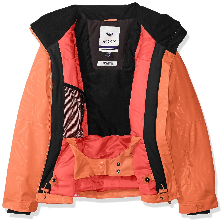 Roxy Girls Big American Pie Solid Snow Jacket