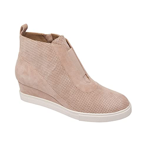 55443a6ffb1 Linea Paolo | Anna | Low Heel Designer Platform Wedge Sneaker Bootie  Comfortable Fashion Ankle Boot