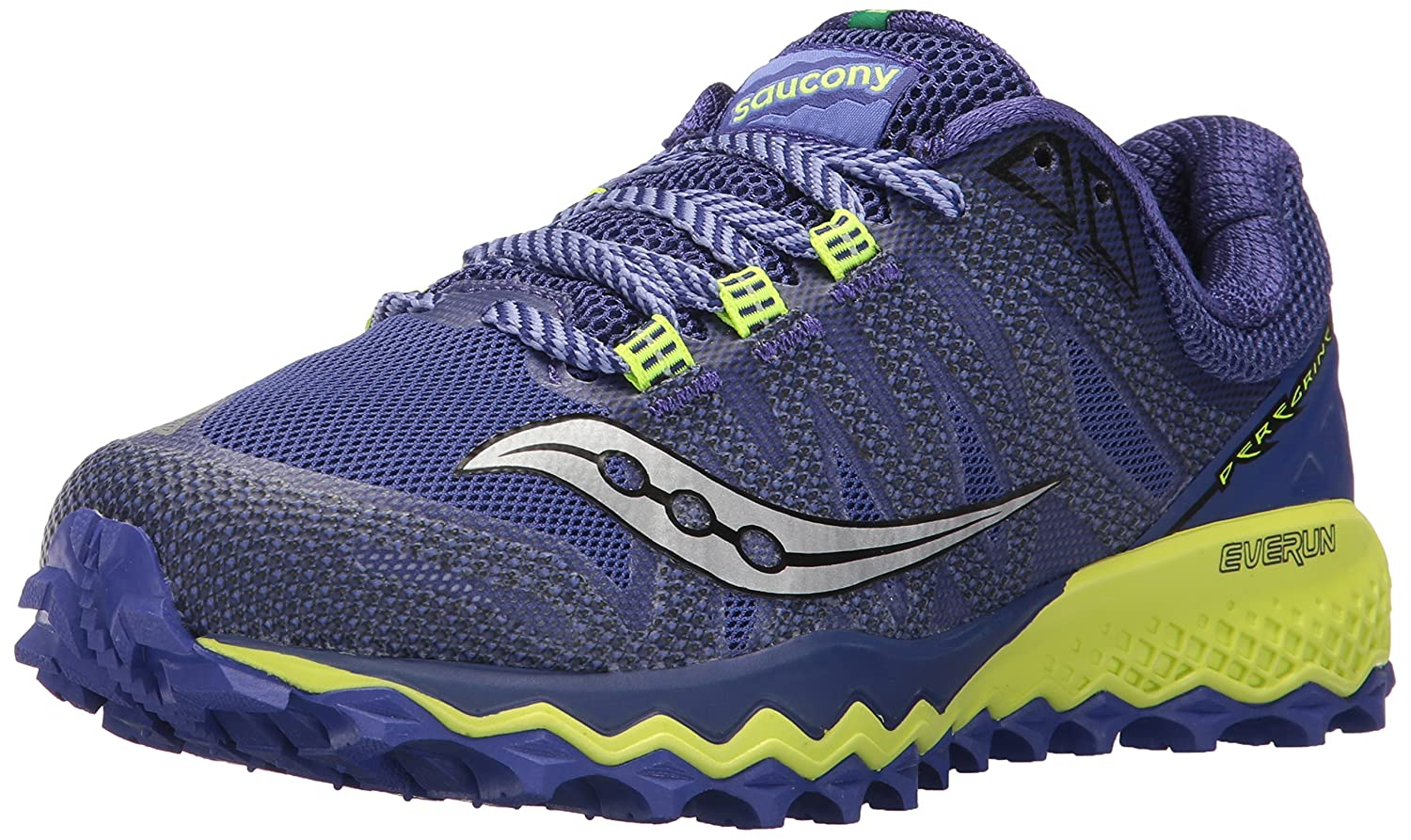 Saucony Women's Peregrine 7 Trail Running Shoe B01N0TLJKW 9.5 B(M) US|Blue Citron