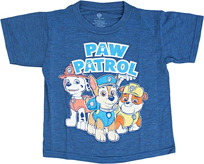 T Shirt Chase Licensed Product Top Paw Patrol Boys Long Sleeve Tshirt