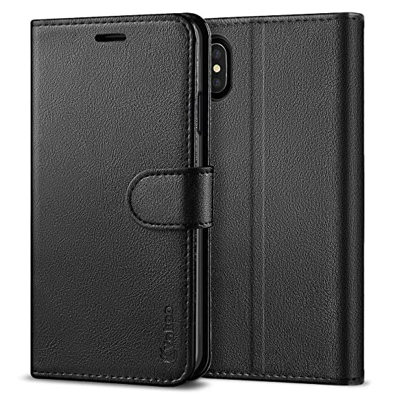 921604d2a62 Vakoo Wallet Case for iPhone Xs Max, Premium Flip Case and PU Leather Phone  Cover for Apple iPhone Xs Max (6.5