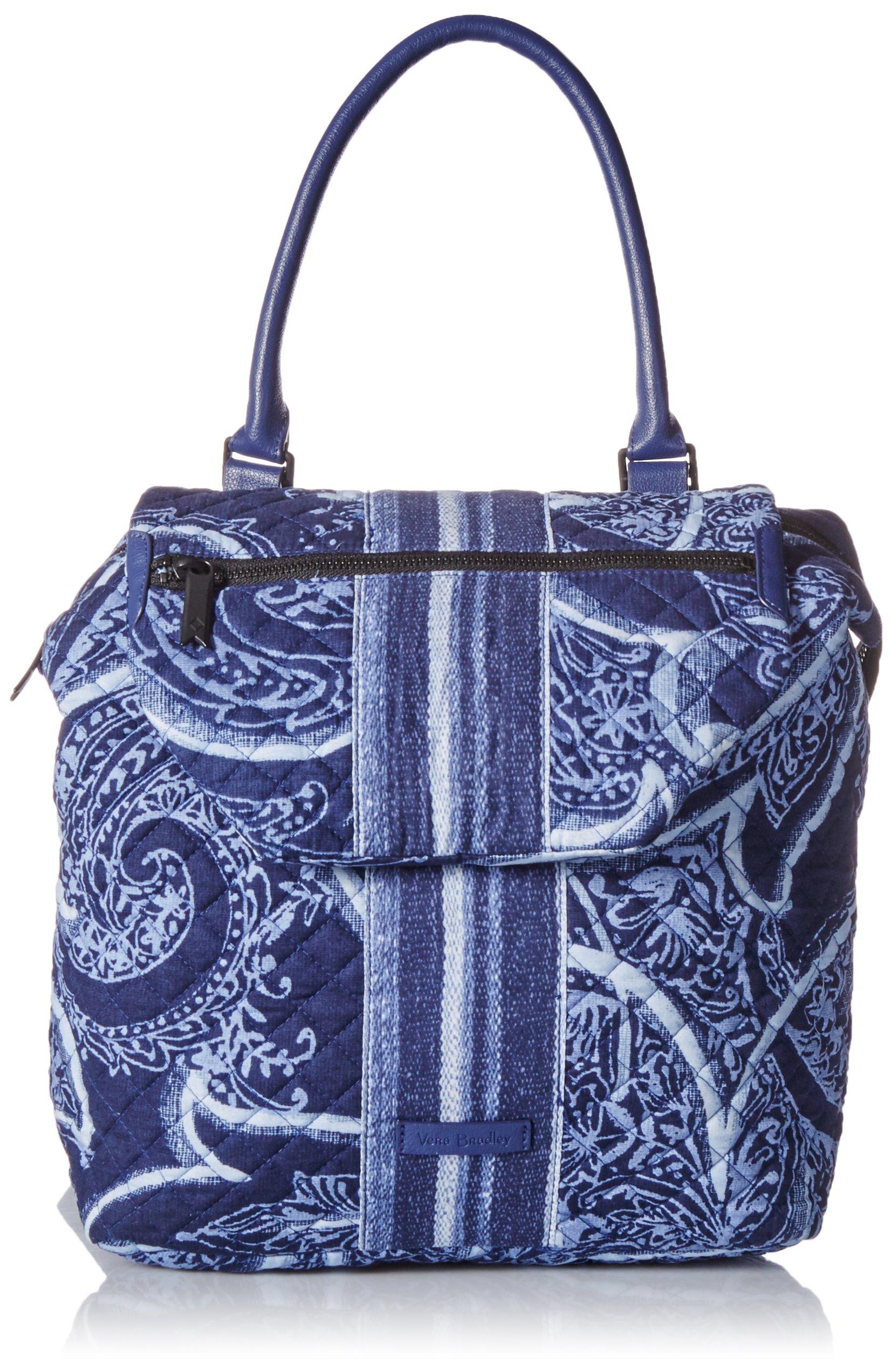 Vera Bradley Change It Up Backpack, Signature Cotton, Indio