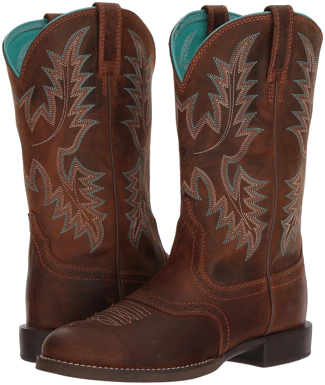 Ariat Women's Heritage Stockman Western Boot B076MG61CR 9.5 B(M) US|Sassy Brown