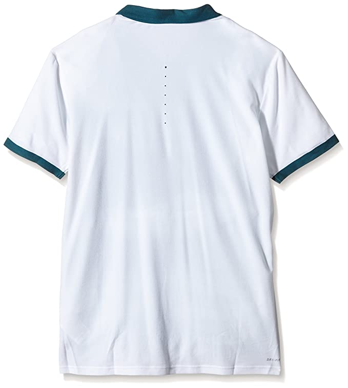 Nike Polo de Hombre con Rayas Advantage Premier Roger Federer ...