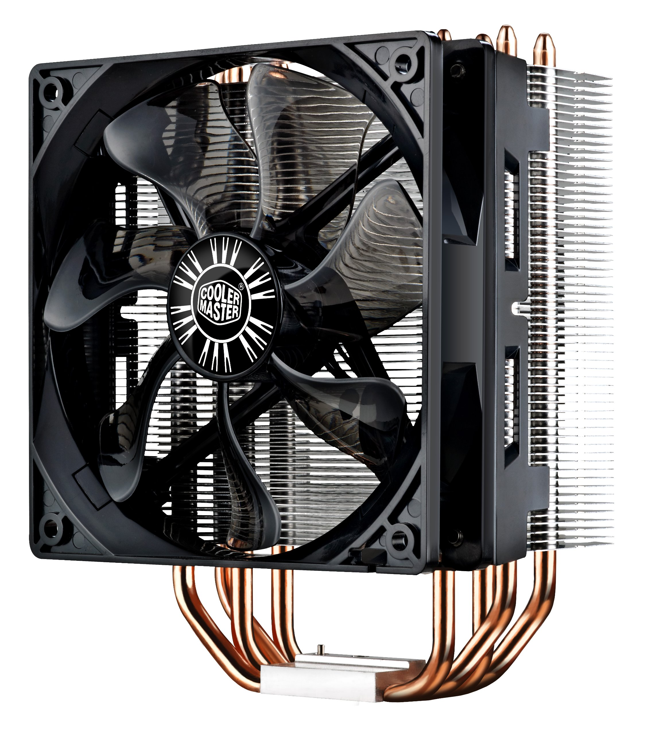 Cooler Master Hyper RR-212E-20PK-R2 LED CPU Cooler with PWM Fan, Four Direct Contact Heat Pipes by Cooler Master